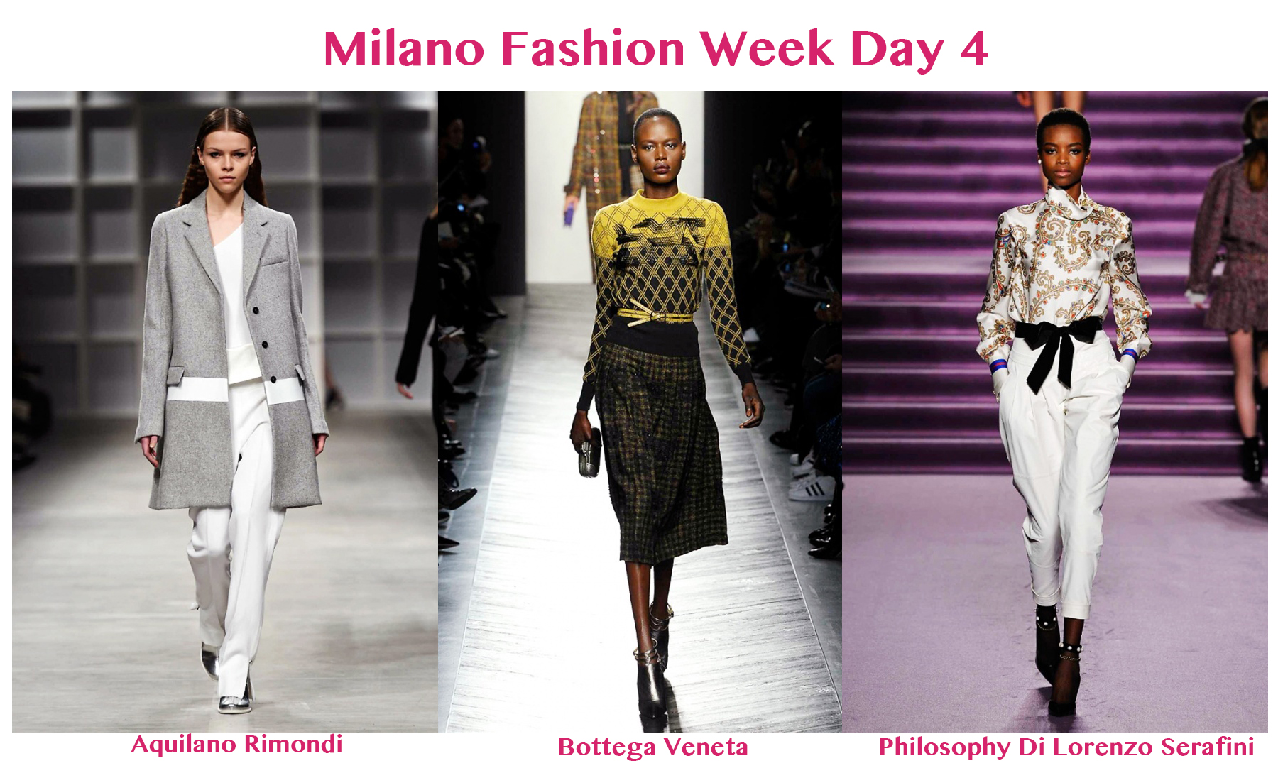 Milano Fashion Week Day 4